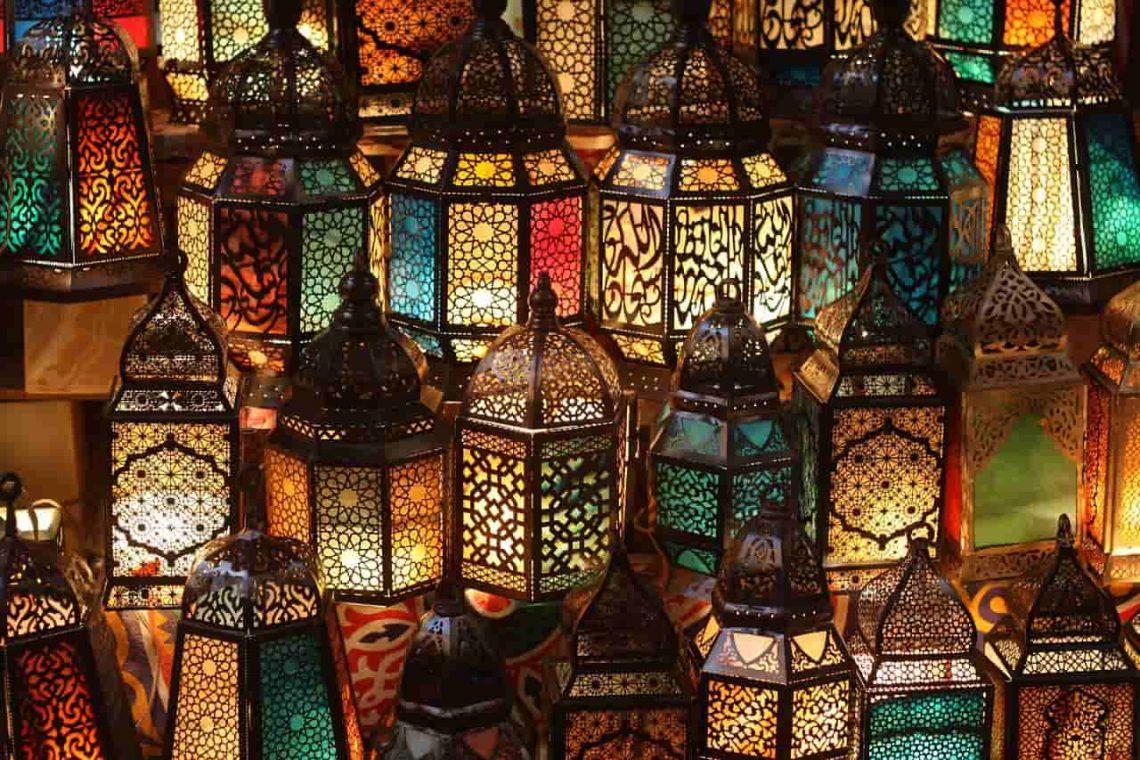Egipt. Kair. Lampiony.