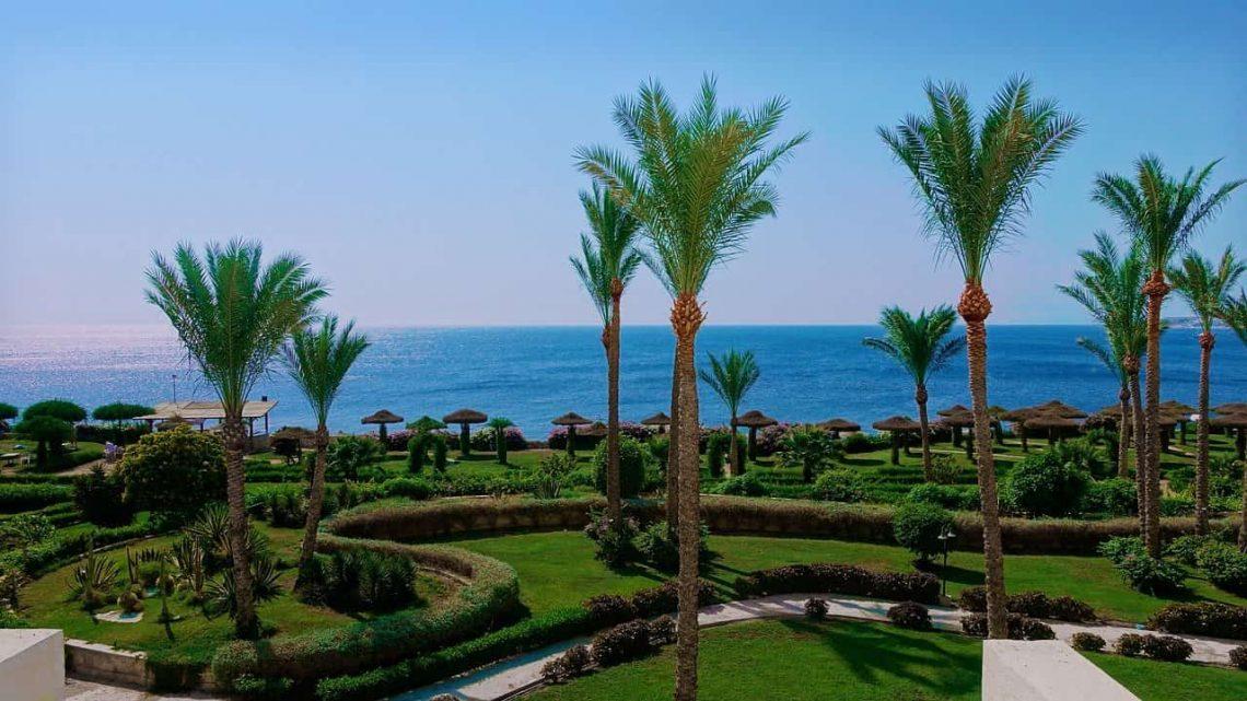 Egipt. Kurort turystyczny