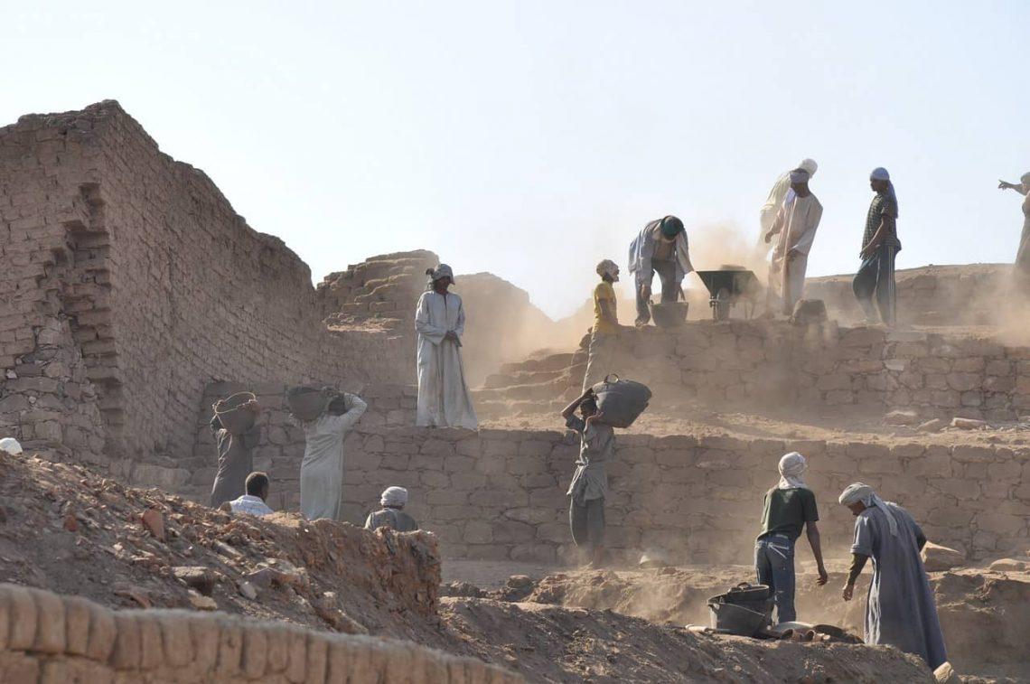Egipt - prace archeologiczne