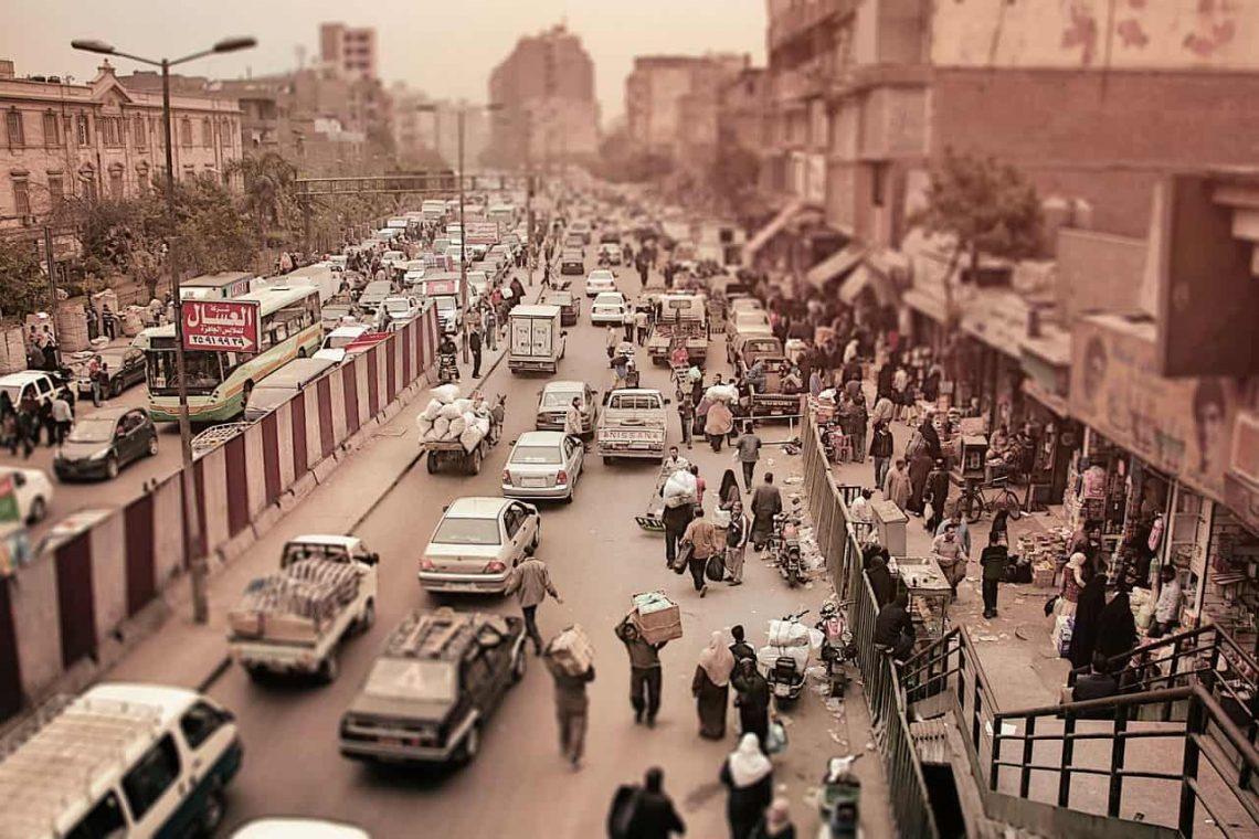 Ruch uliczny w Egipcie