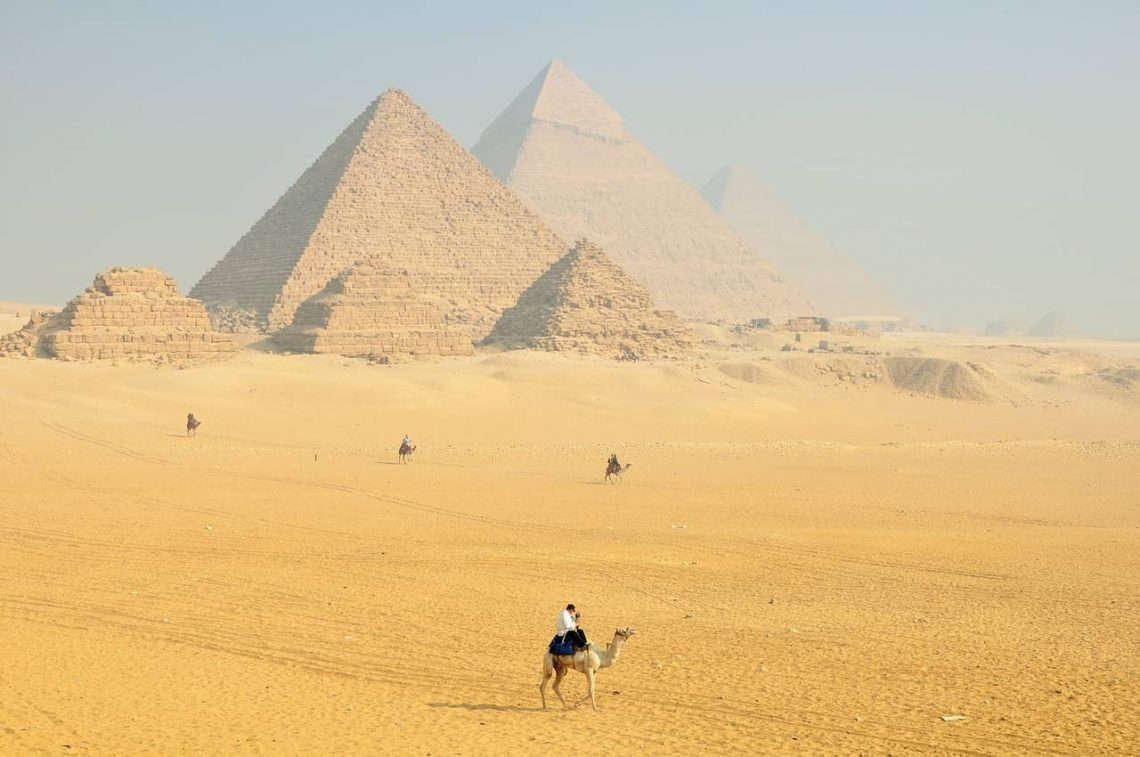 Egipt - gorący oddech pustyni