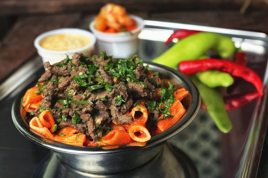 Kuchnia Egipska. Kebda - tradycyjna potrawa