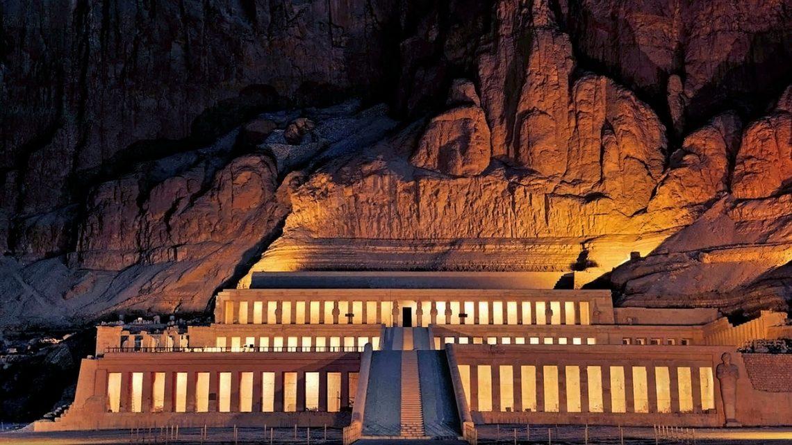Świątynia Hatszepsut. Egipt.